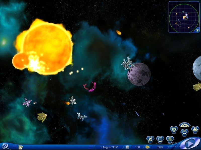 Скриншот к игре Space Rangers