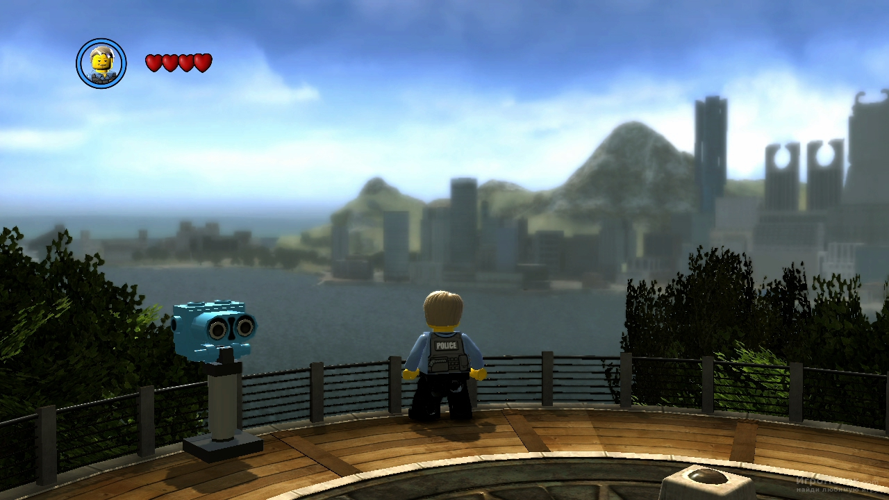 Скриншот к игре LEGO City Undercover