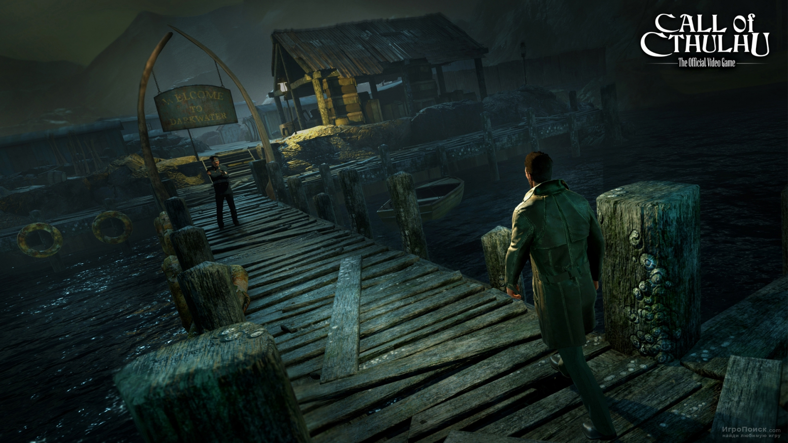 Скриншот к игре Call of Cthulhu: The Official Video Game