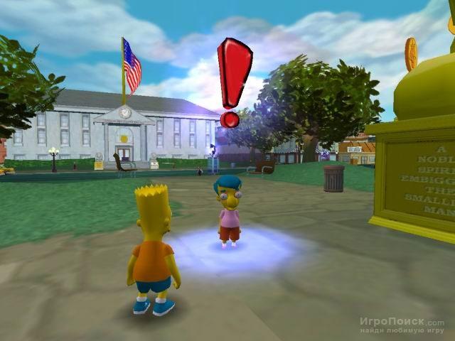 Скриншот к игре The Simpsons: Hit and Run