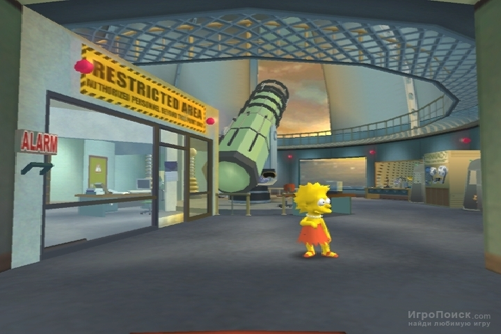 Скриншот к игре The Simpsons: Hit and Run