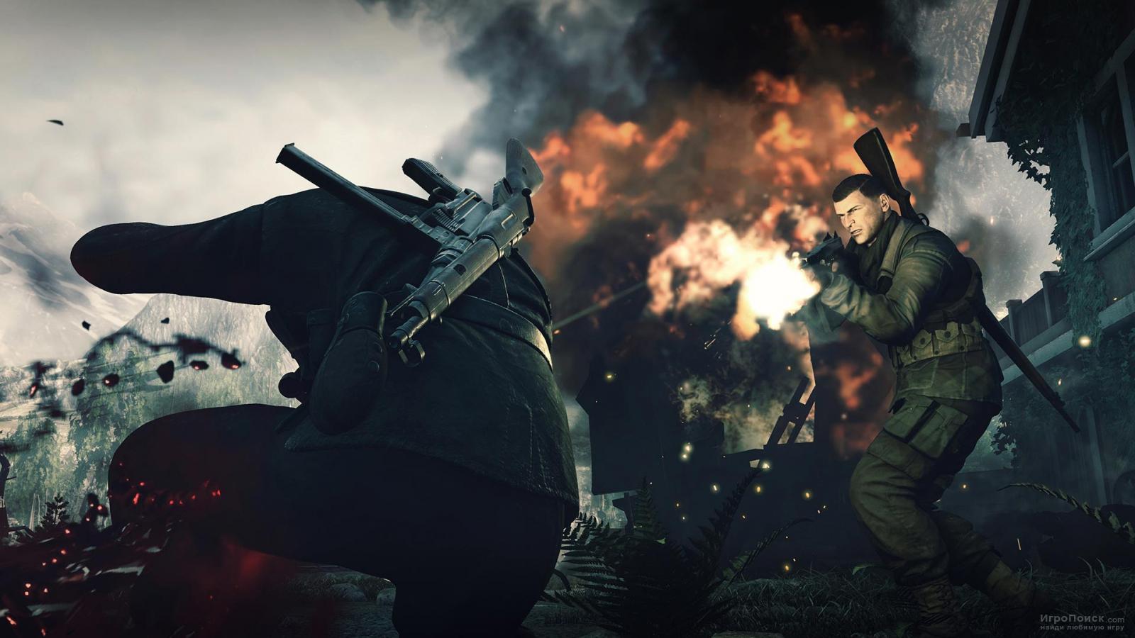 Скриншот к игре Sniper Elite 4