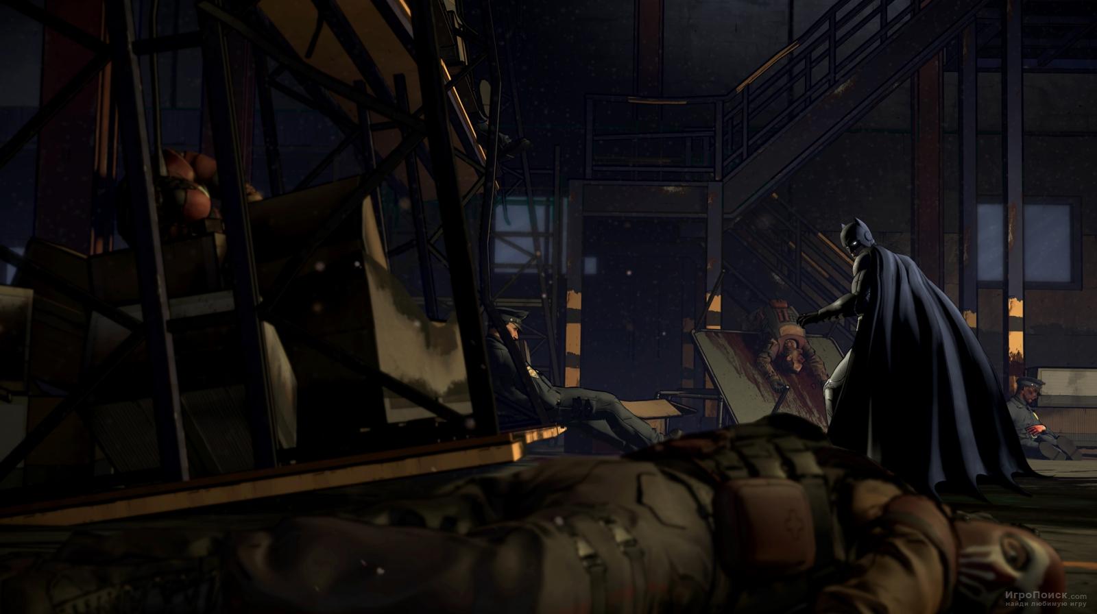 Скриншот к игре Batman: The Telltale Series - Episode 1: Realm of Shadows