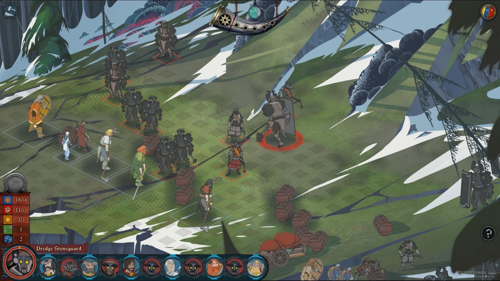 Скриншот к игре The Banner Saga 2