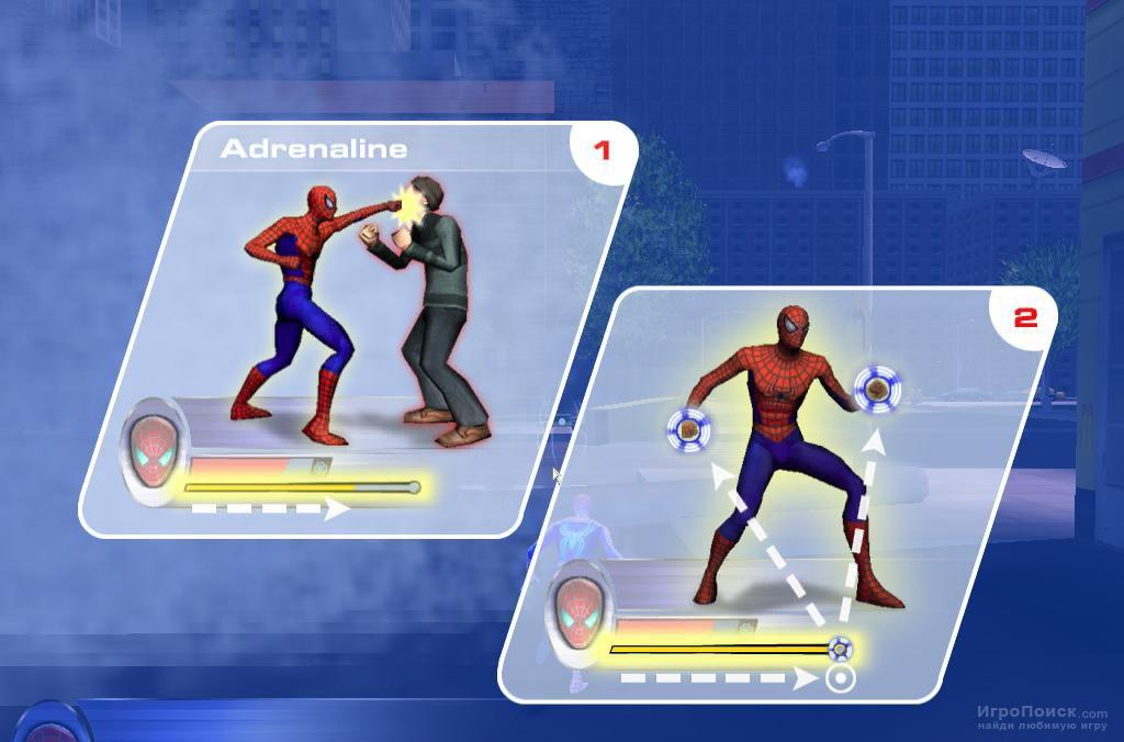 Скриншот к игре Spider-Man 2: The Game