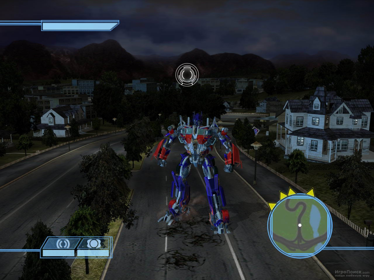Скриншот к игре Transformers: The Game