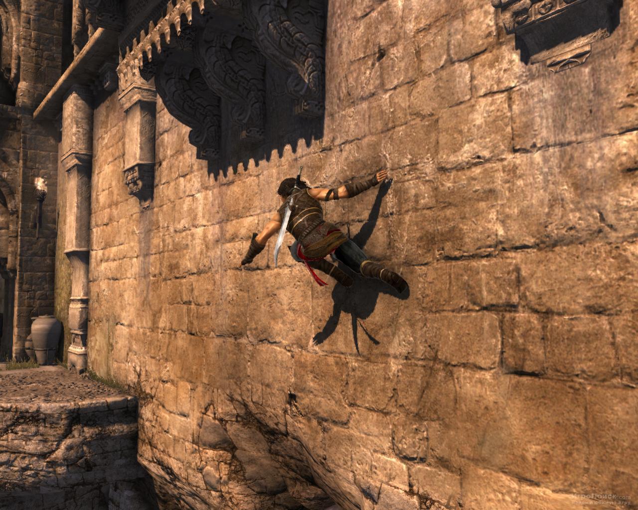 Скриншот к игре Prince of Persia: The Forgotten Sands
