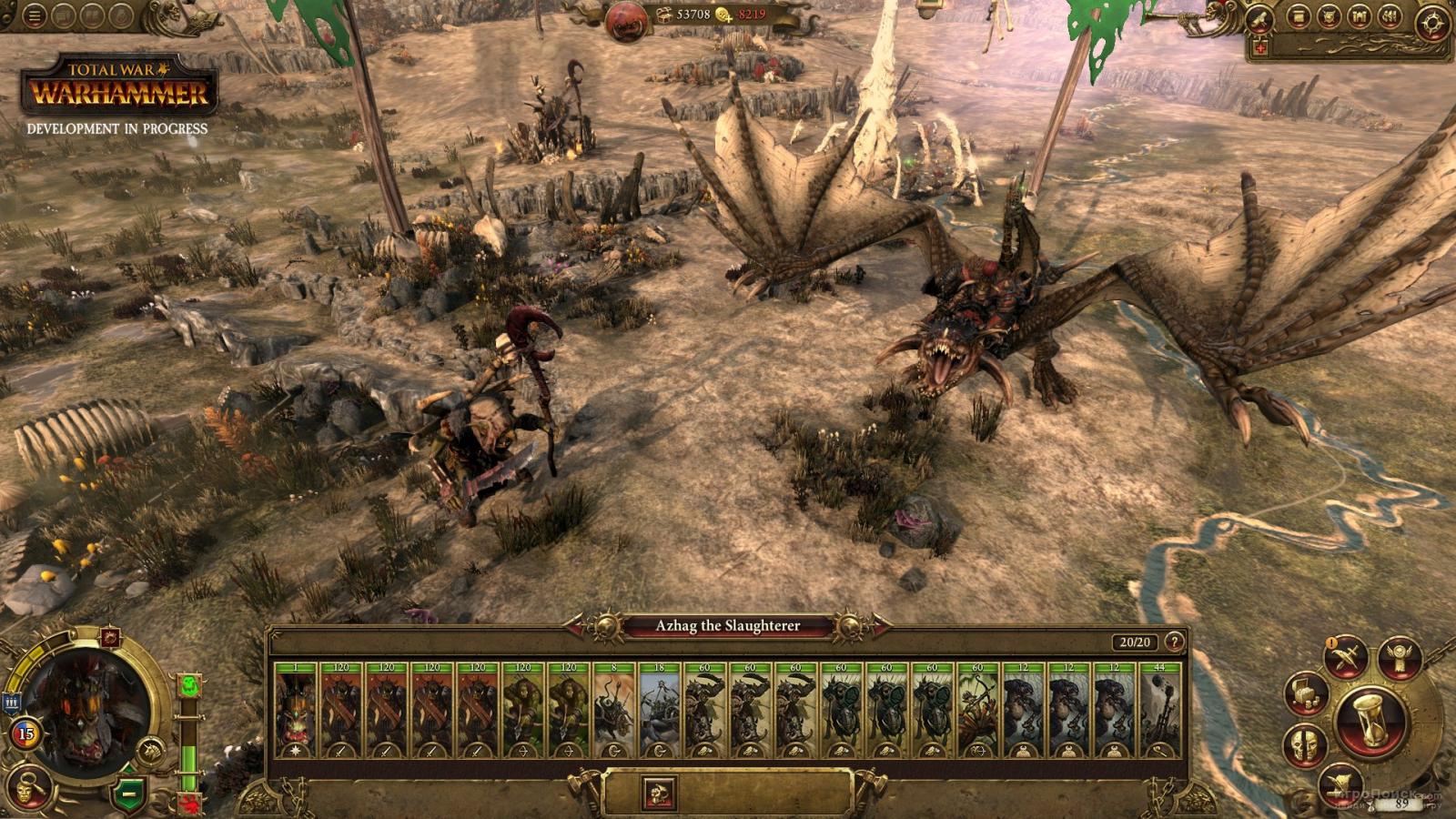 Скриншот к игре Total War: Warhammer