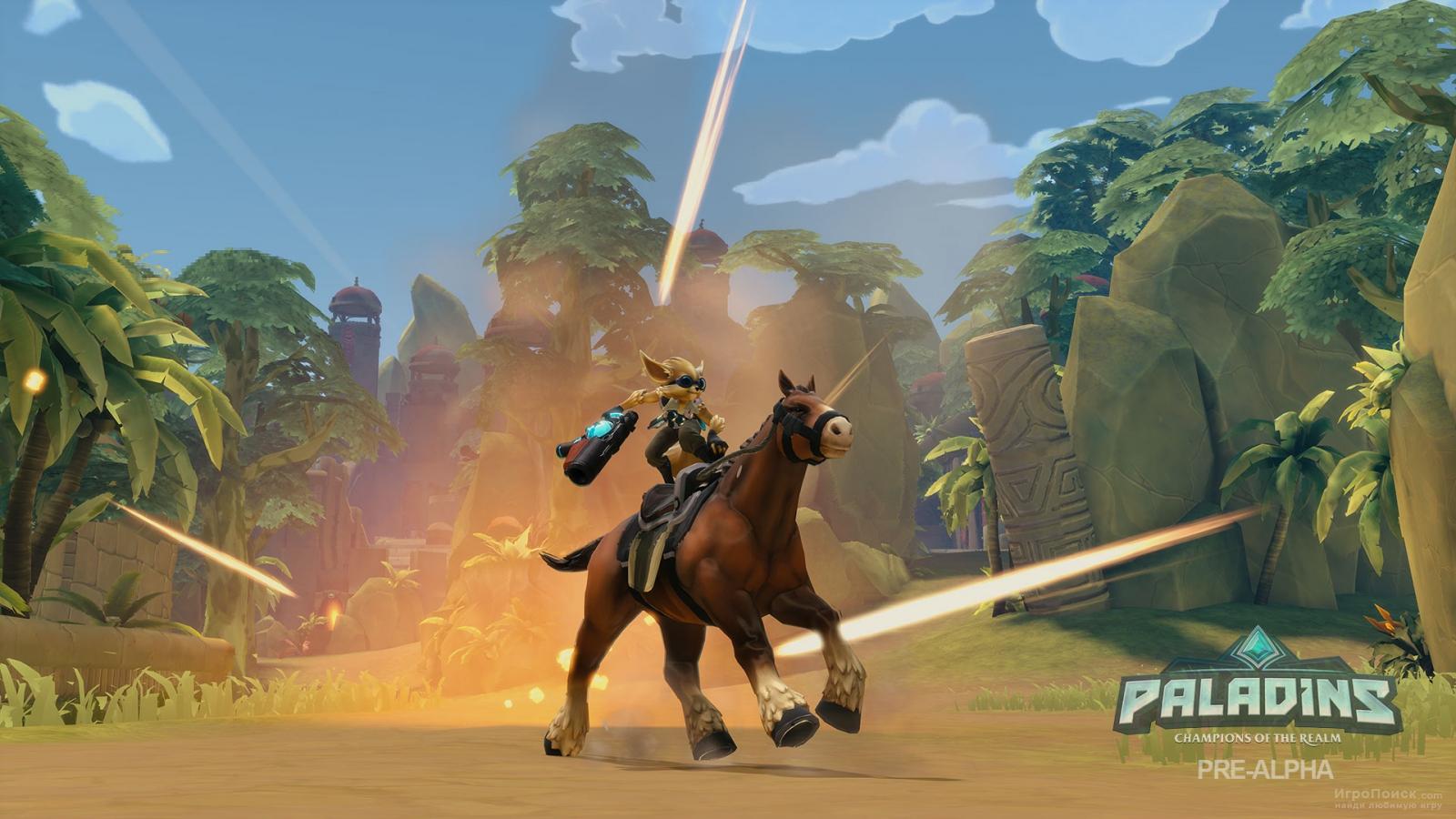 Скриншот к игре Paladins: Champions of the Realm