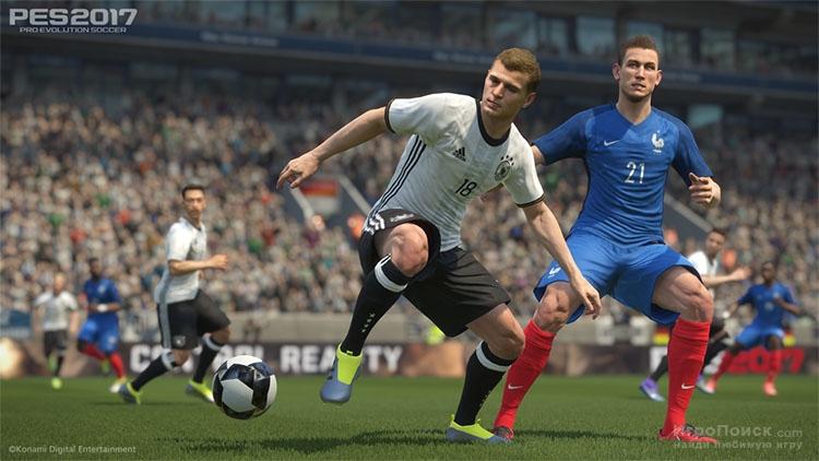 Скриншот к игре Pro Evolution Soccer 2017