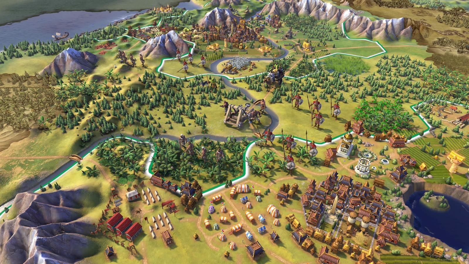 Скриншот к игре Sid Meier's Civilization VI