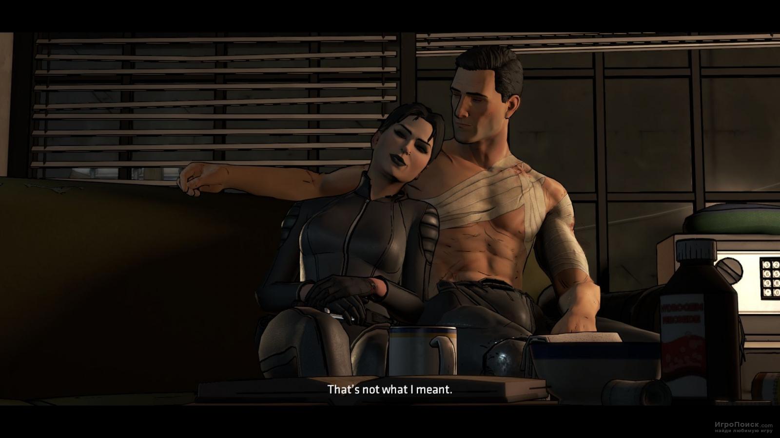 Скриншот к игре Batman: The Telltale Series - Episode 3: New World Order