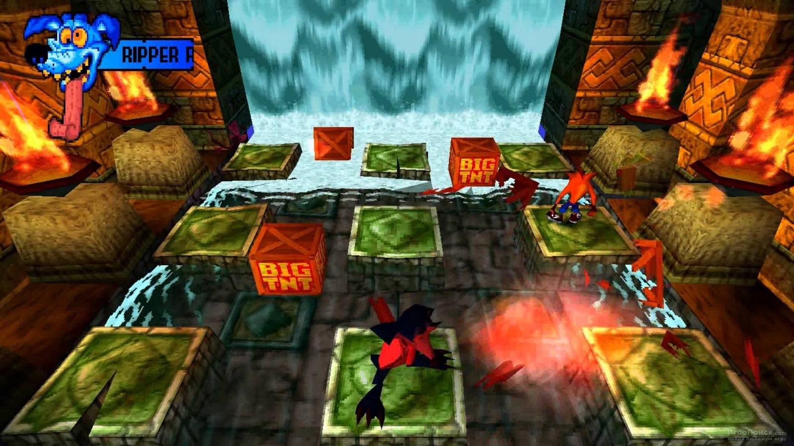 Скриншот к игре Crash Bandicoot