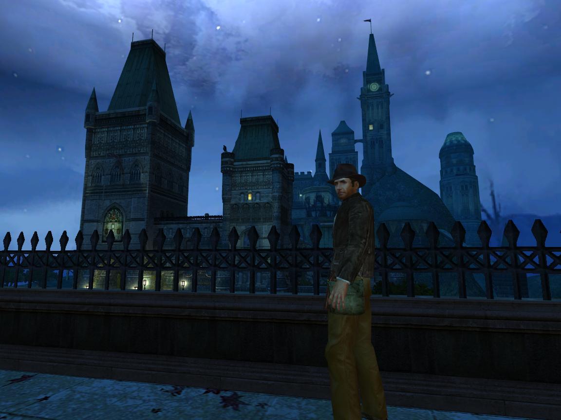 Скриншот к игре Indiana Jones and the Emperor's Tomb