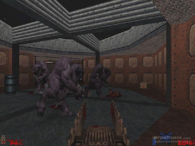 Скриншот к игре Doom 64