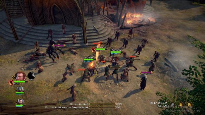 Скриншот к игре The Dwarves