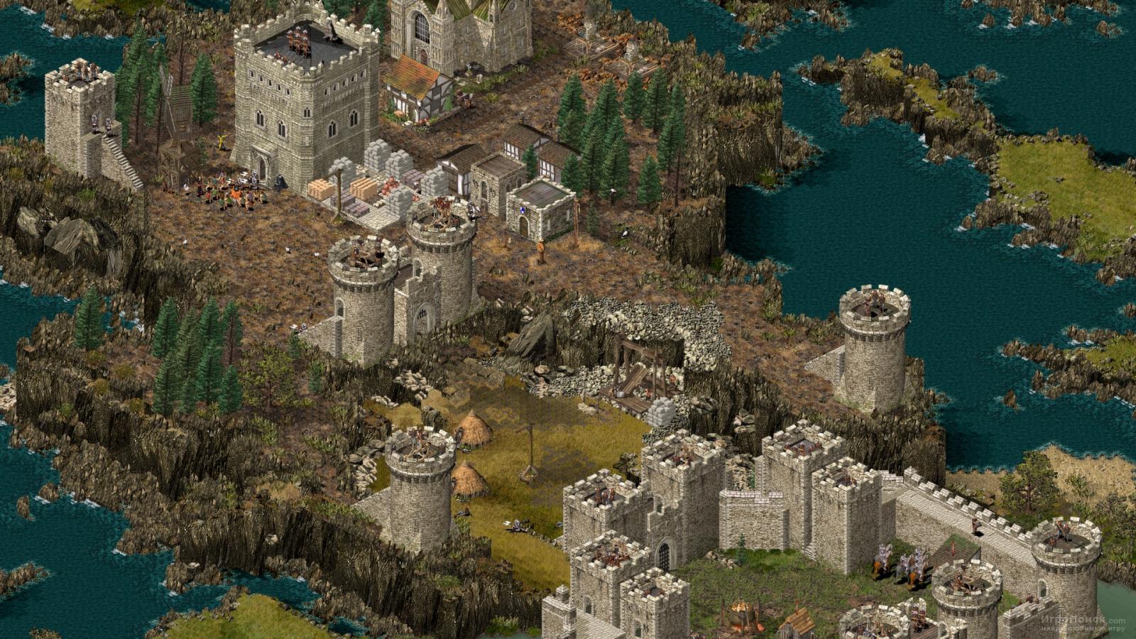 Скриншот к игре Stronghold