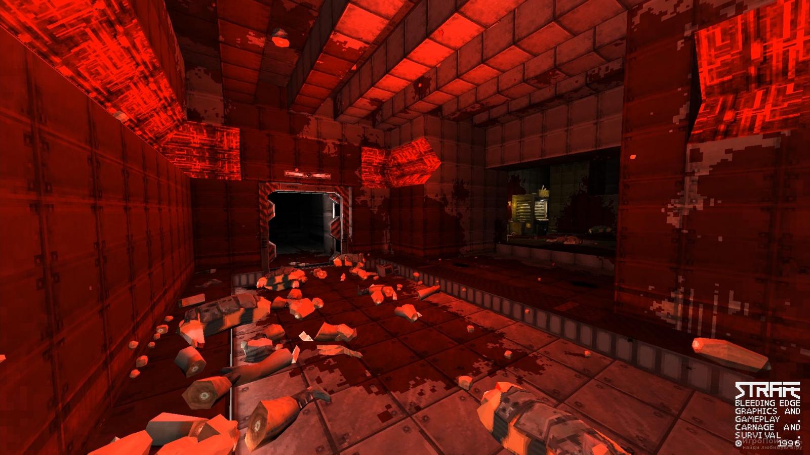 Скриншот к игре Strafe
