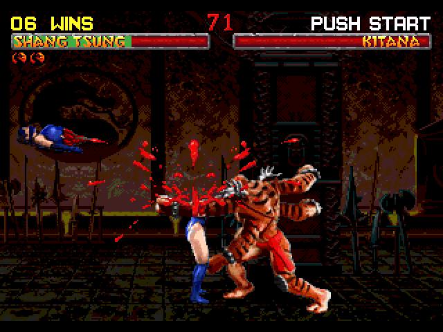 Скриншот к игре Mortal Kombat II