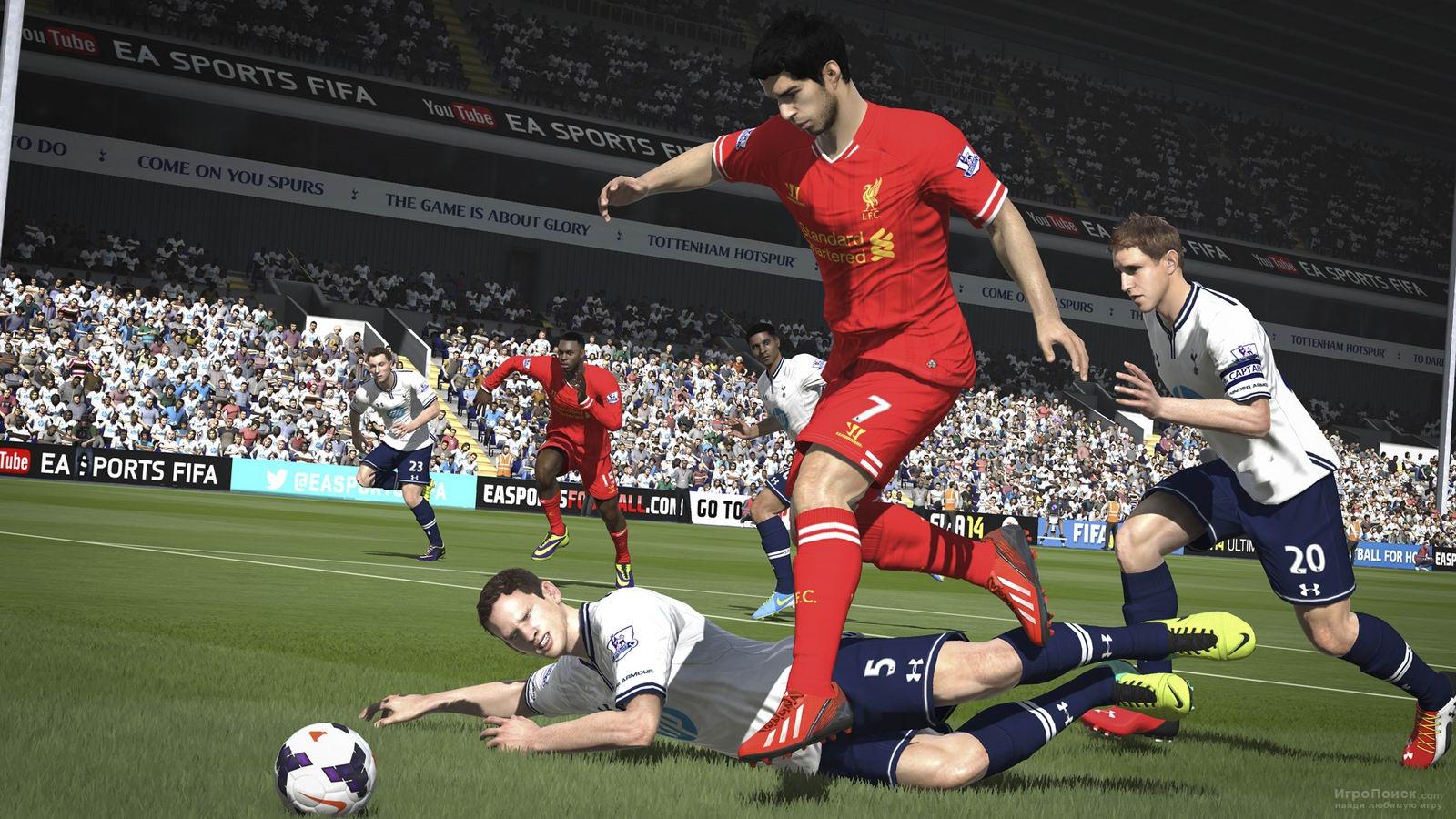 Скриншот к игре FIFA 14