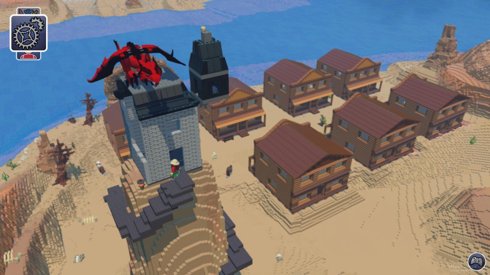 Скриншот к игре LEGO Worlds