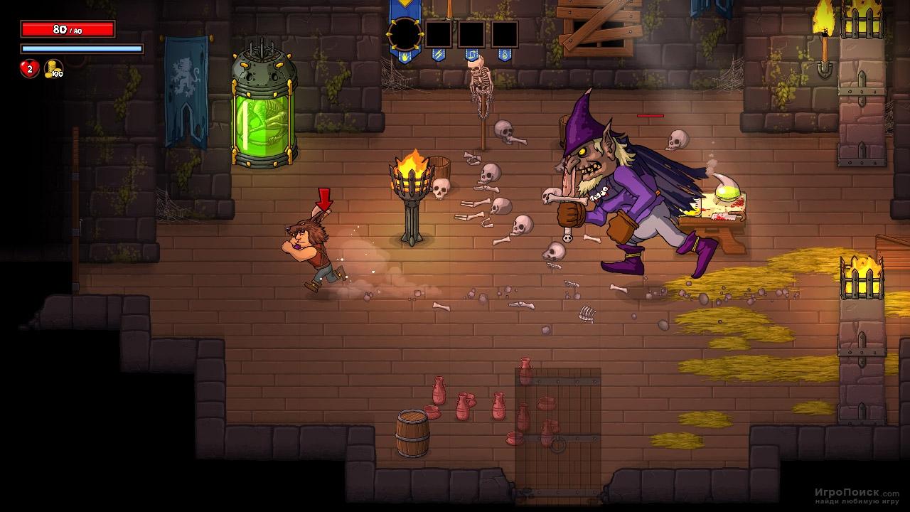 Скриншот к игре Rampage Knights