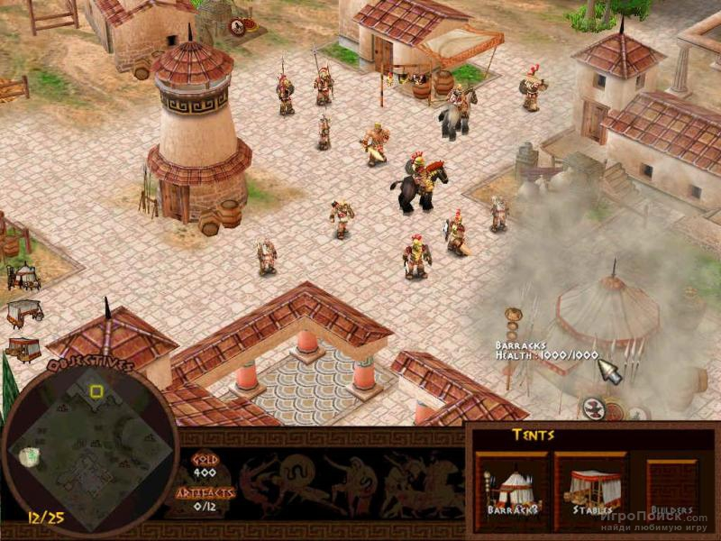 Скриншот к игре Battle for Troy