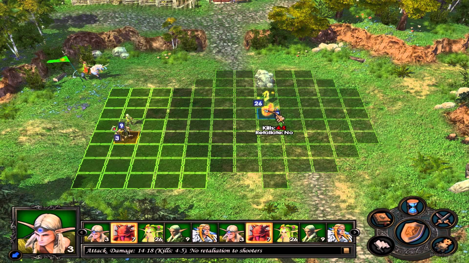 Скриншот к игре Heroes of Might and Magic V
