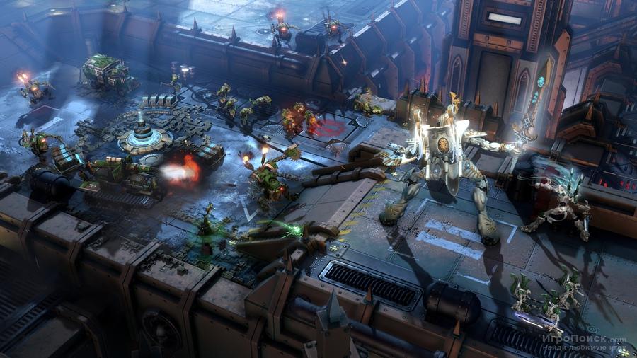 Скриншот к игре Warhammer 40,000: Dawn of War III