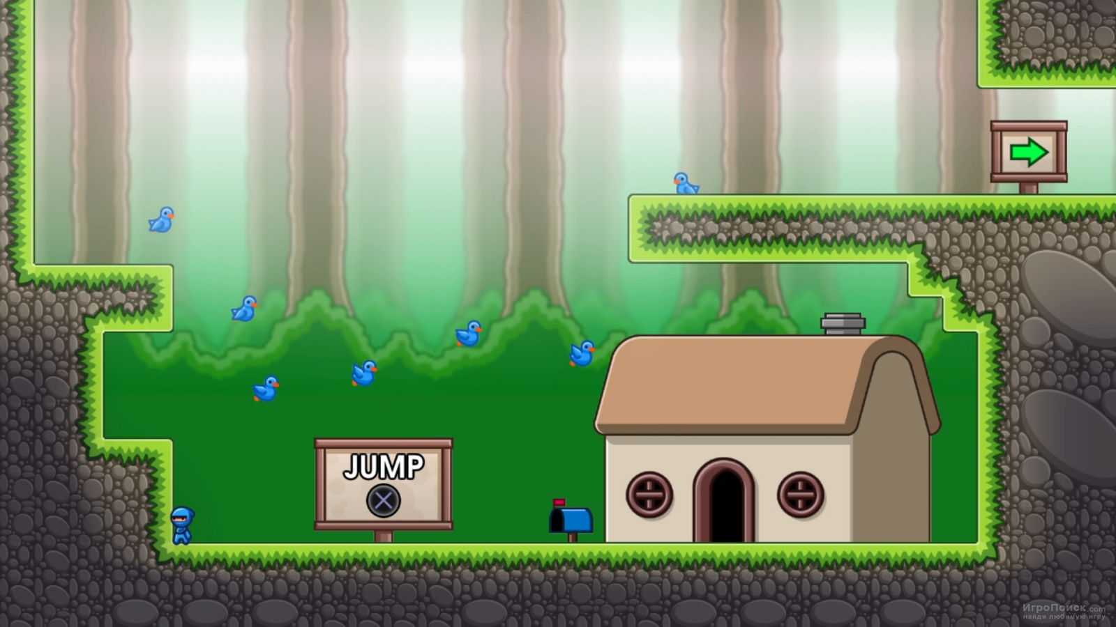 Скриншот к игре 10 Second Ninja X