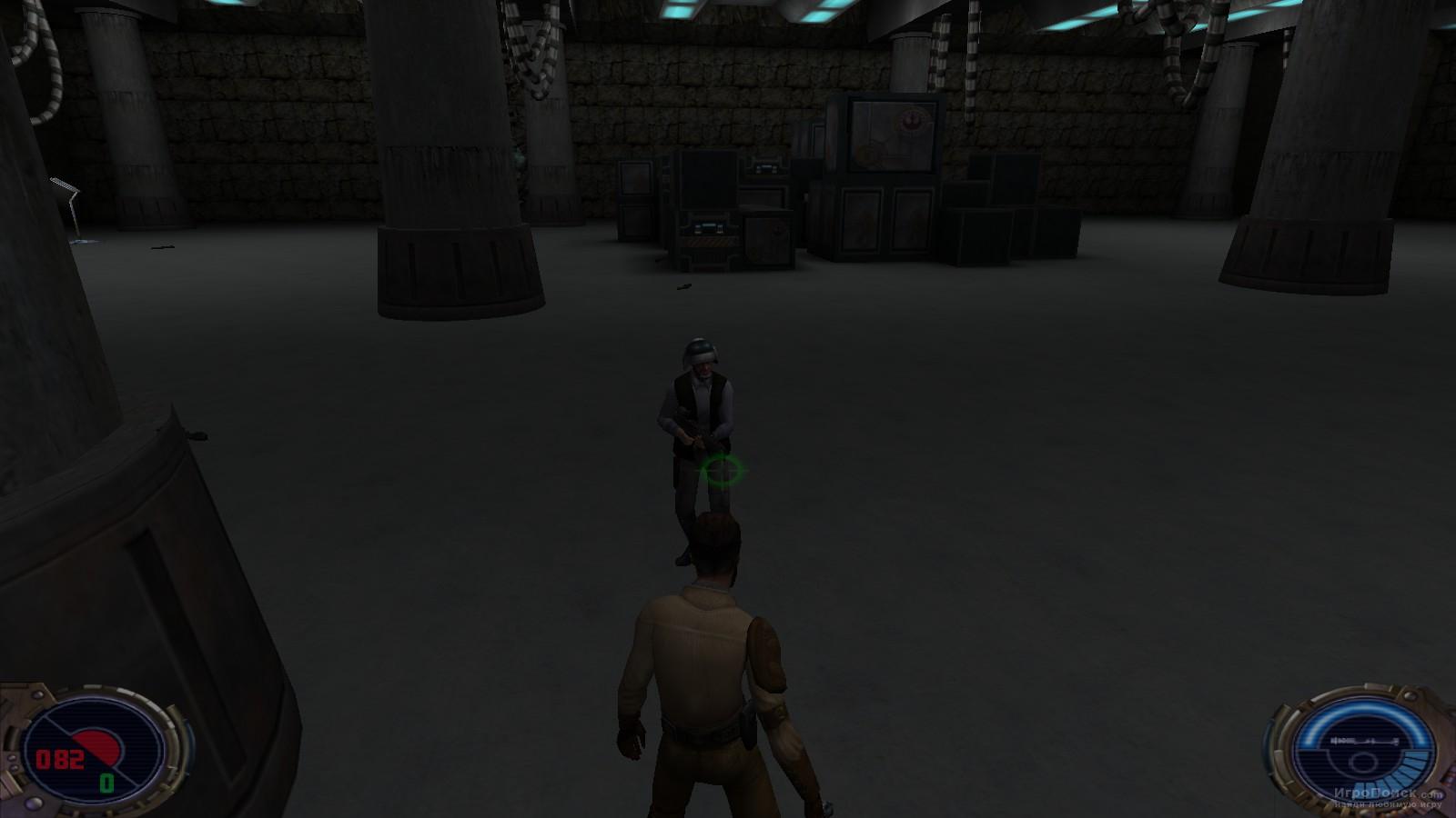 Скриншот к игре Star Wars Jedi Knight II: Jedi Outcast