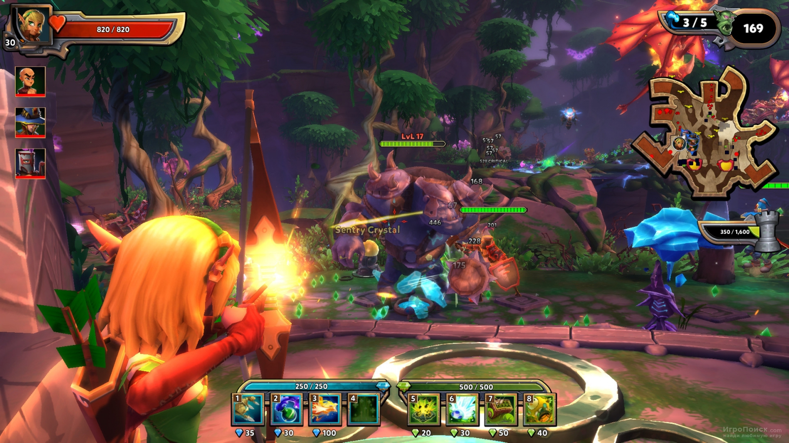 Скриншот к игре Dungeon Defenders II