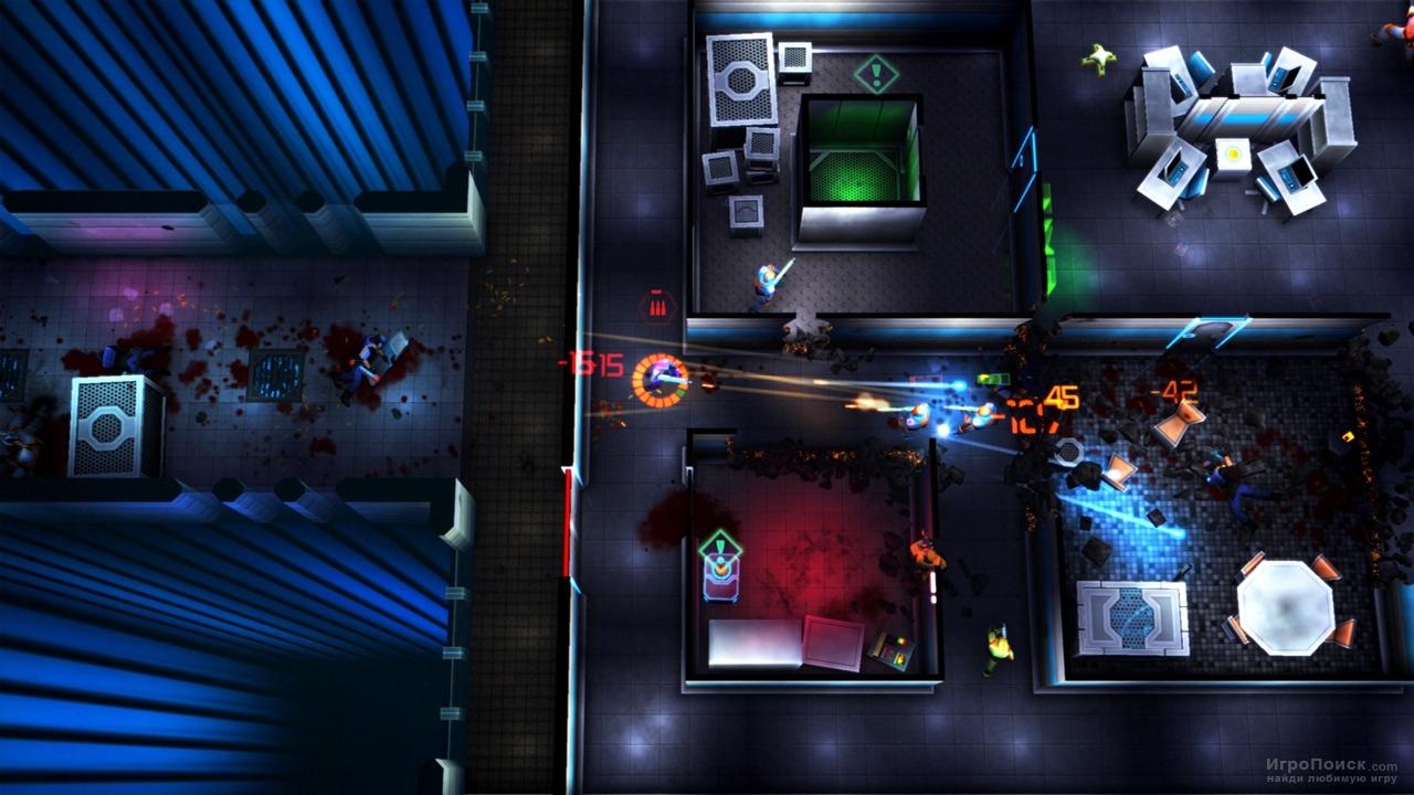 Скриншот к игре Neon Chrome
