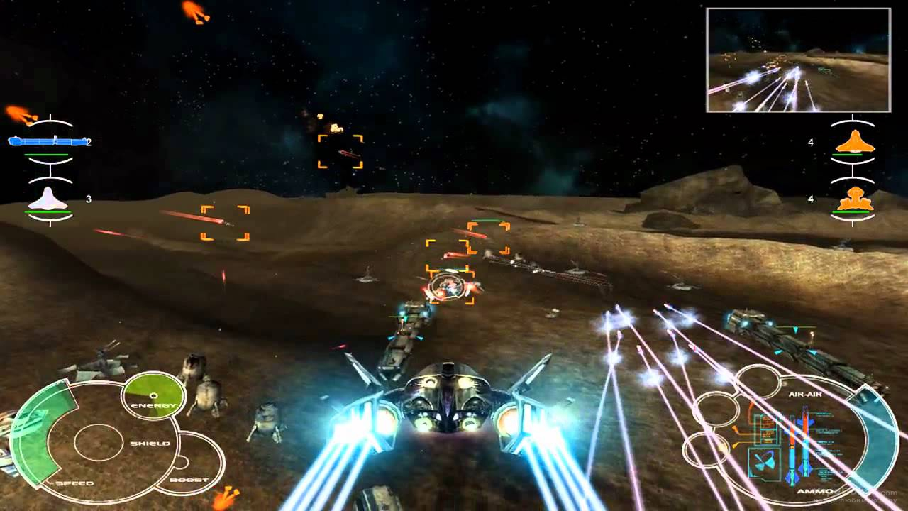 Скриншот к игре Space Interceptor: Project Freedom