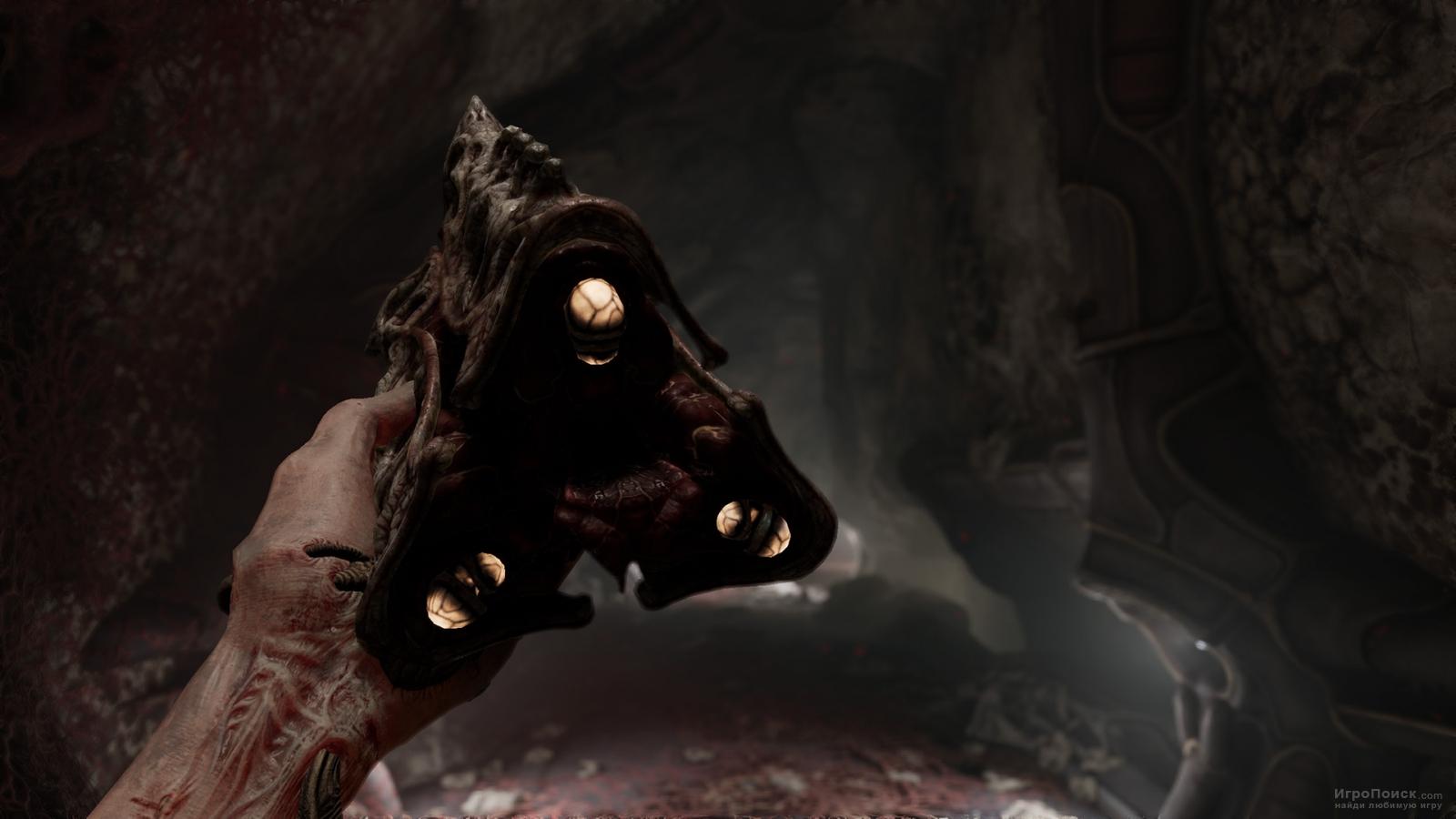 Скриншот к игре Scorn