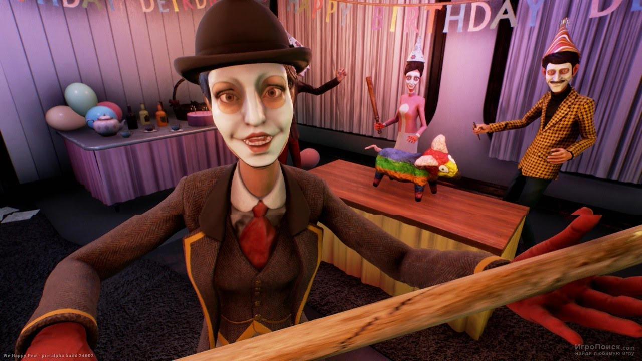 Скриншот к игре We Happy Few