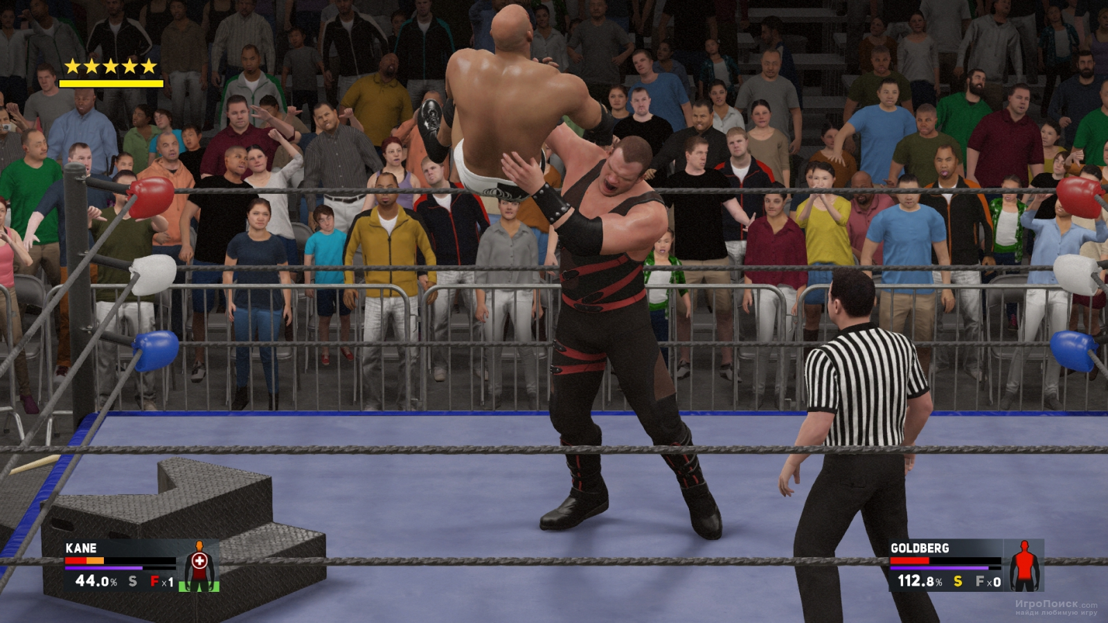 Скриншот к игре WWE 2K17