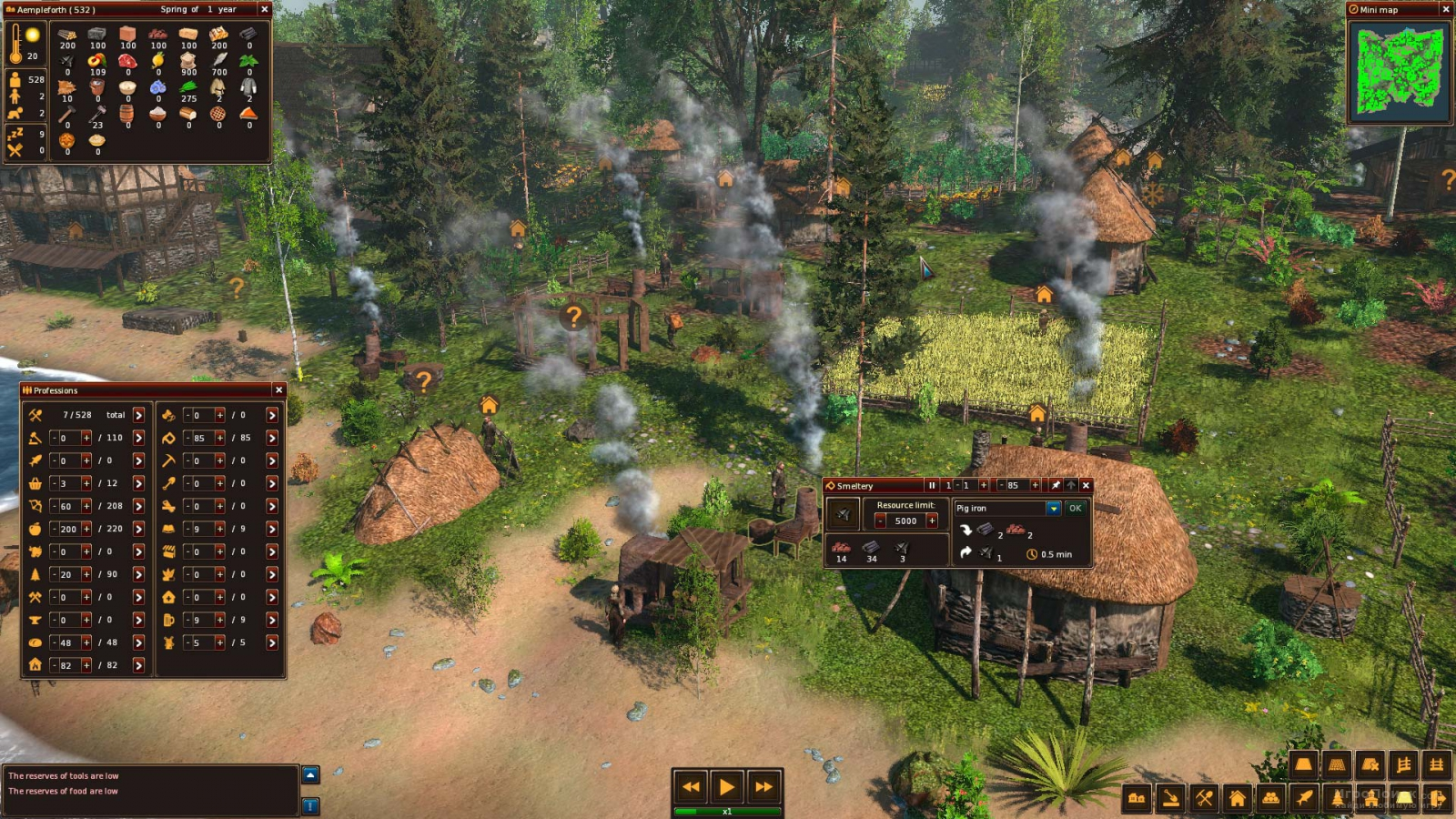 Скриншот к игре Life is Feudal: Forest Village