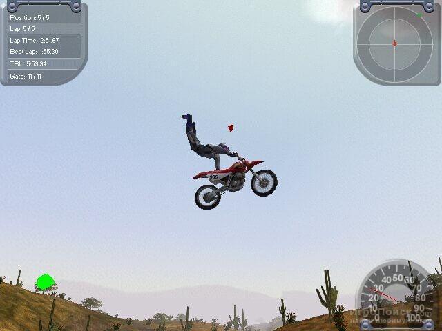 Скриншот к игре Motocross Madness 2