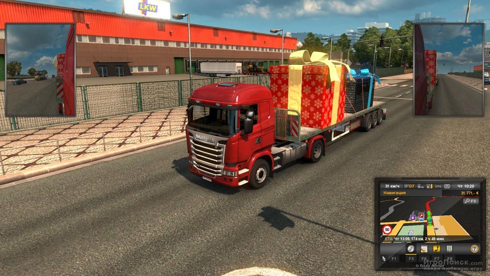 Скриншот к игре Euro Truck Simulator 2