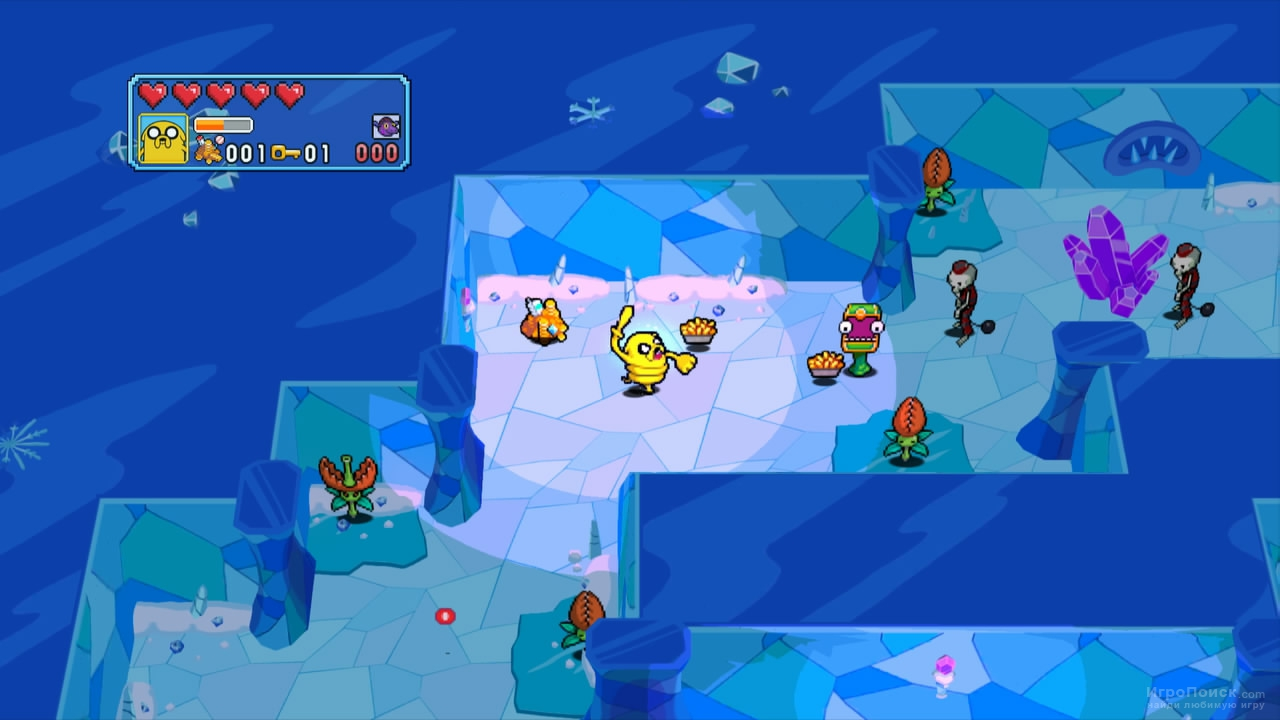 Скриншот к игре Adventure Time: Explore the Dungeon Because I DON'T KNOW!