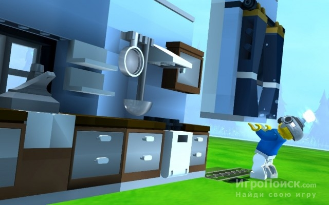 Скриншот к игре LEGO Universe