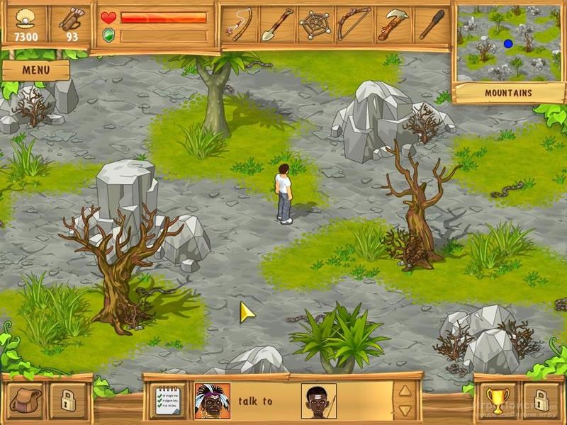 Скриншот к игре The Island: Castaway