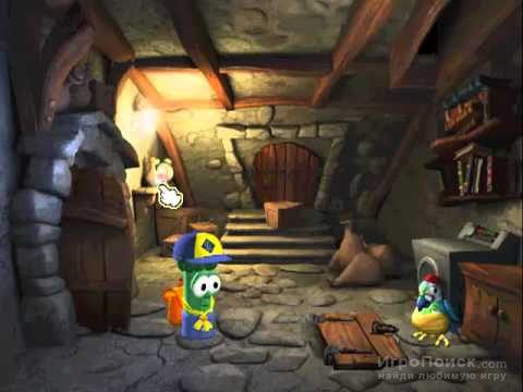 Скриншот к игре Veggie Tales: The Mystery of Veggie Island