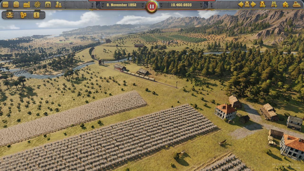 Скриншот к игре Railway Empire