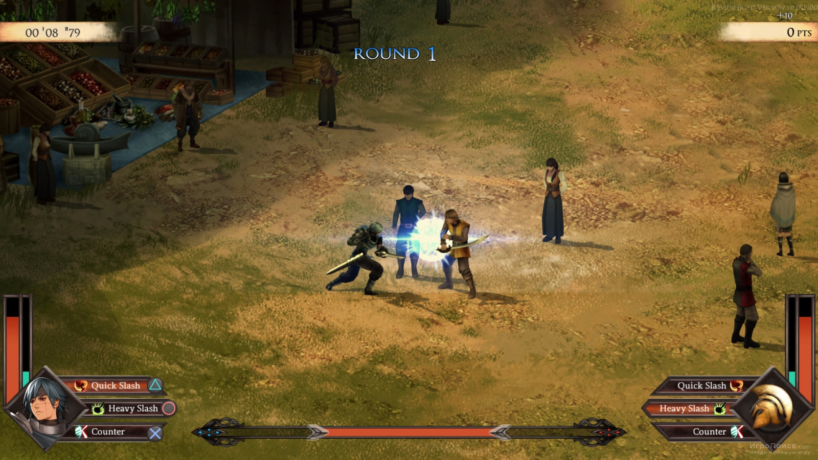 Скриншот к игре Legrand Legacy: Tale of the Fatebounds