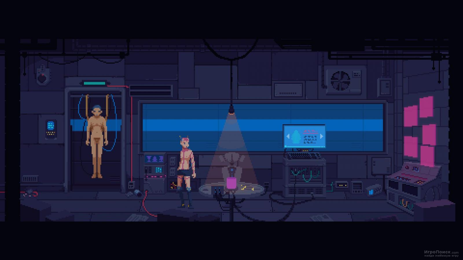 Скриншот к игре The Red Strings Club