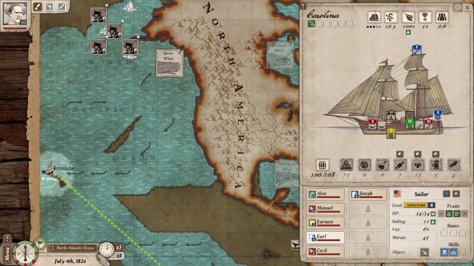 Скриншот к игре Nantucket