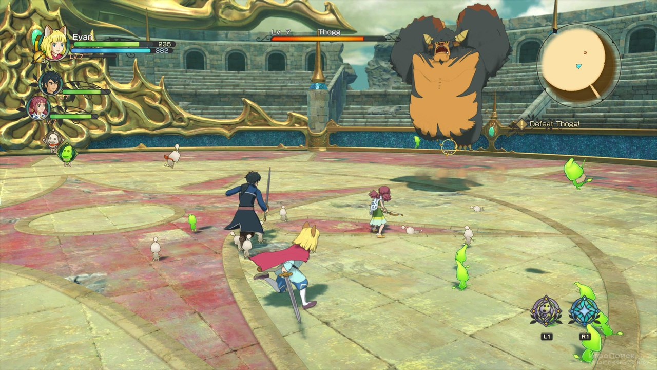 Скриншот к игре Ni no Kuni II: Revenant Kingdom