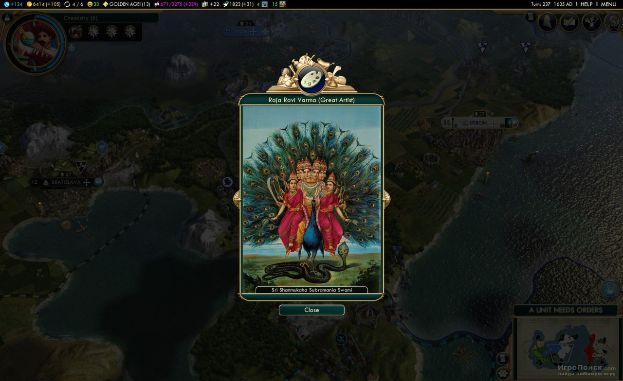 Скриншот к игре Sid Meier's Civilization V: Brave New World